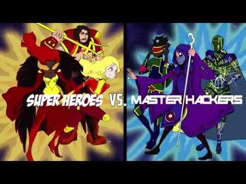 Super Heroes vs Master Hackers Hackathon New York Oct 2015 #HeroesVSHackers