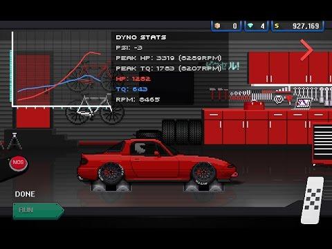 Pixel Car Racer - 3300HP FR9 MIATA