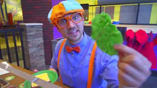 Blippi Toys! Blippi Plays at the Children's Museum Learn Colors for Toddlers
