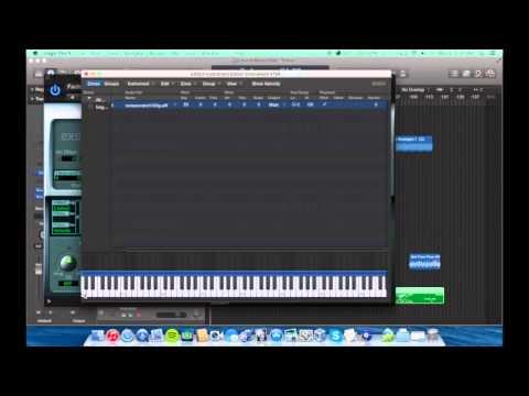 How Too DJ Scratch Logic Pro X EXS24 (2015)