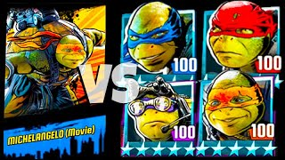 Mikey PVP all Movie Turtles - Teenage Mutant Ninja Turtles Legends