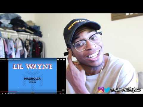 Lil Wayne - Magnolia (Freestyle) REACTION!!!!