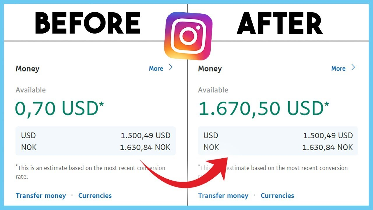 How to Make Money On Instagram in 2020 👉 Without 10k ...