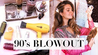 BIG BOUNCY BLOWOUT TUTORIAL // Cher Horowitz vibes