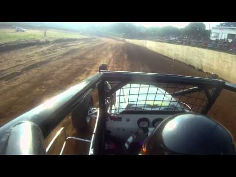 In-Car Cam: Twin Cities Raceway Park 7/3/15 (Hot Laps)