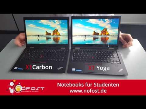 Lenovo™ ThinkPad® X1 Yoga vs  Lenovo™ ThinkPad® X1 Carbon