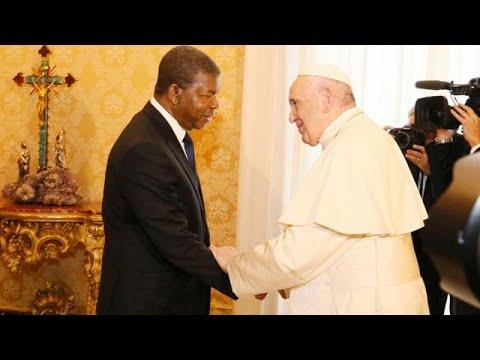 João Lourenço recebido em audiência privada pelo Papa