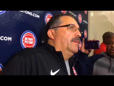 Pistons' Stan Van Gundy encourages Stanley Johnson to keep shooting ball