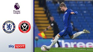 Werner entscheidet die Partie | FC Chelsea - Sheffield United 4:1 | Highlights - Premier League