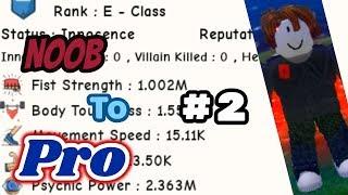Roblox: DANO A PRO #2 SUPER POWER TRAINING SIMULATOR
