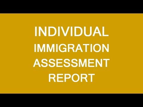 Individual Canadian Immigration Assessment Report. LP Group
