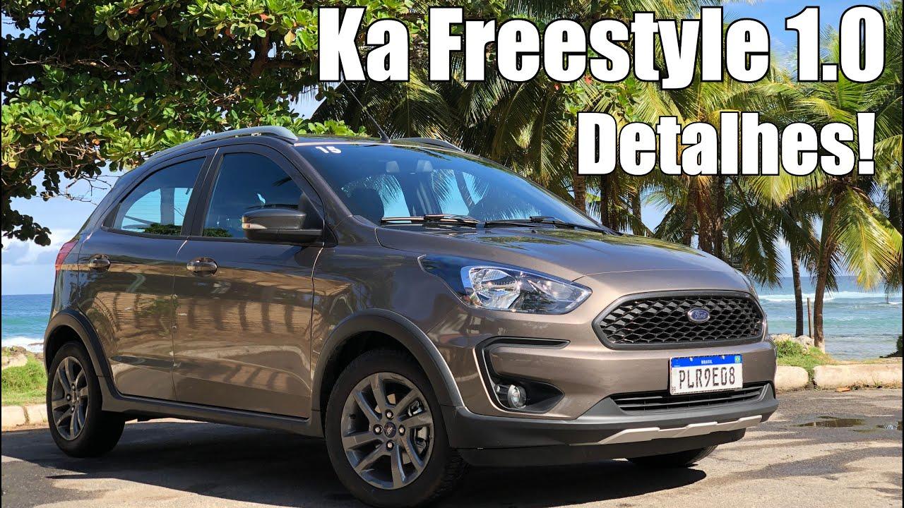 Ford Ka Freestyle 1 0 2020 Em Detalhes Falando De Carro Youtube