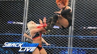 Becky Lynch vs. Alexa Bliss - SmackDown Women's Title Steel Cage Match: SmackDown LIVE, Jan 17, 2017
