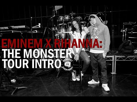 Eminem x Rihanna: The Monster Tour Intro (Full HD)