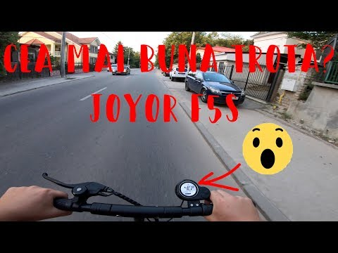 Review 4k la trotineta electrica Joyor F5S Plus
