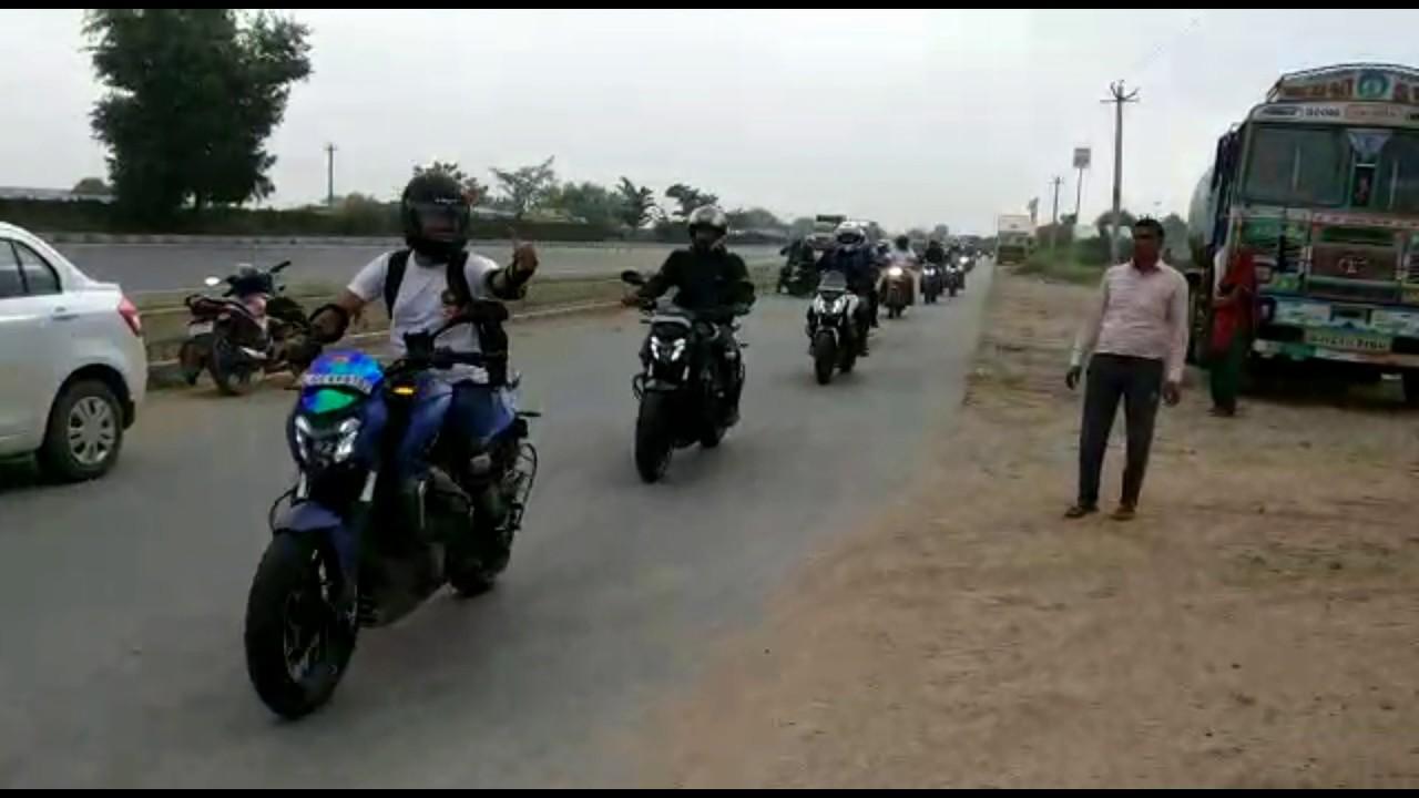 Ignited saints supporting biker paridise st anniversary ride