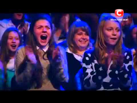 Кыргызские парни на кастинге Украина мае таланты 7