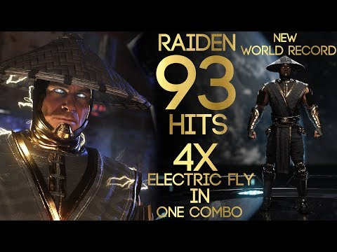 Raiden 93 Hits Highest Combos (New World Record)