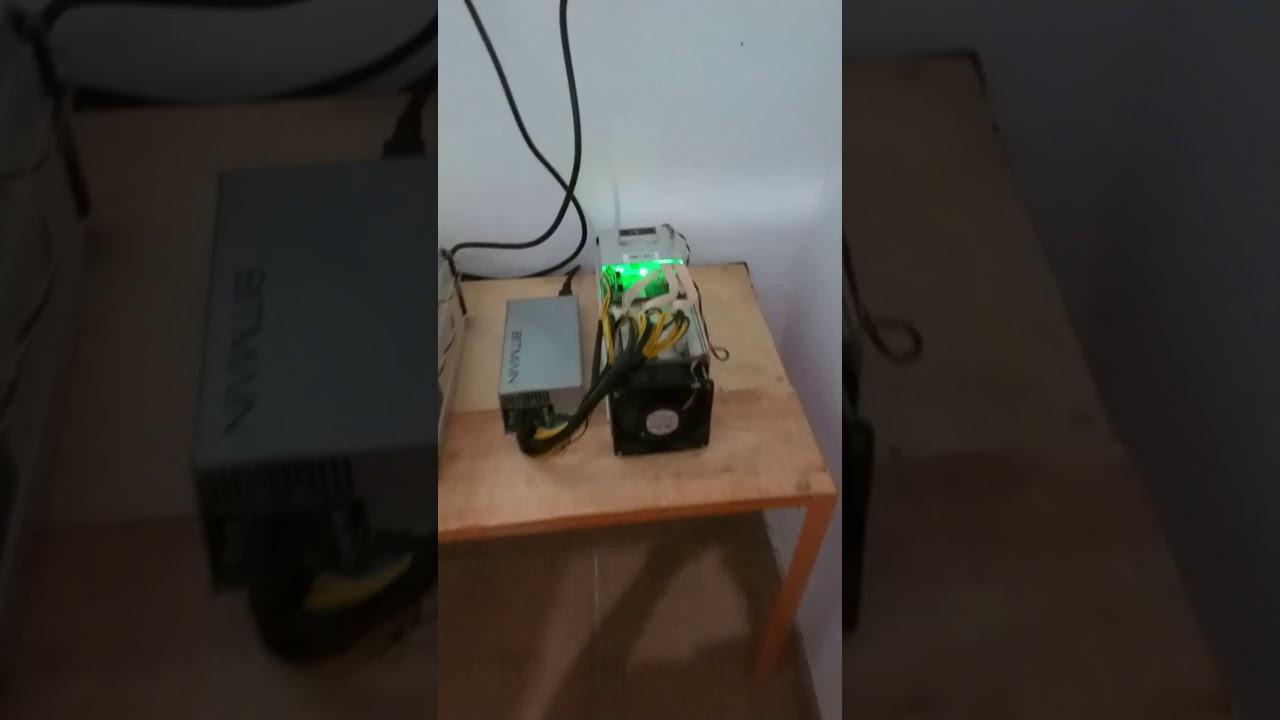 Part 1 ANTMINER S9 13 5th/s SUBANG JAWA BARAT - Rifky risyart