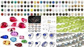 원석비즈 재료-탄생석 보석 재료-실버주얼리 도매 사이트