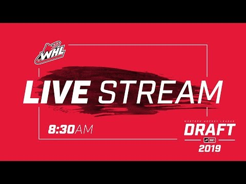 LIVE || 2019 WHL DRAFT || Red Deer, AB
