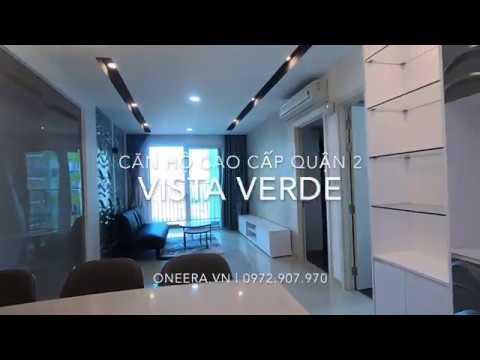 Vista Verde Căn hộ 2pn tầng cao có nội thất cho thuê   OneEra.vn   0972907970