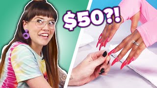 Nail Artists Guess The Cost Of Manicures