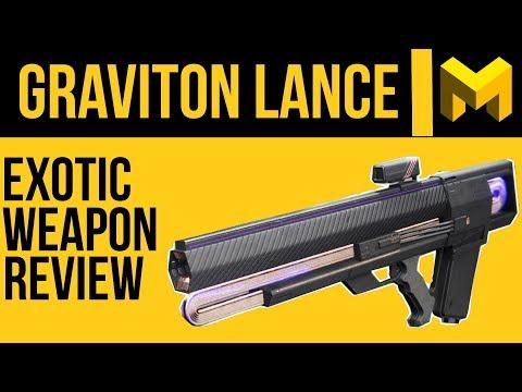 Destiny 2 Graviton Lance Exotic Review: Stop Using this gun!