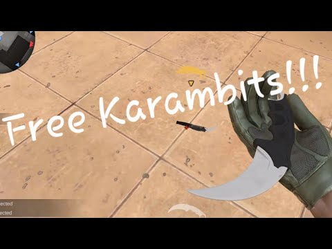 A hacker Gave me KARAMBIT KNIFE!!! For free!! (stand off2)