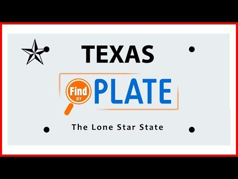 Looking Up License Plates from Texas