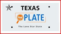 How to Lookup Texas License Plates and Report Bad Drivers