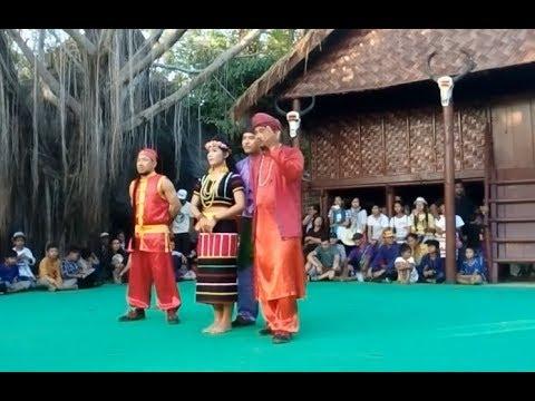 Cambodian Travel | Cultural Village | Khmer ethnic minority Dance at Siem Reap Angkor #3