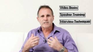 Video Speaker training and Interview Training Sydney with Steve Brossman