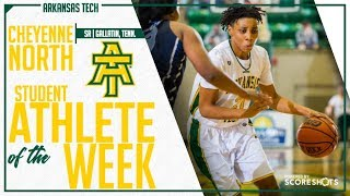 Arkansas Tech Student Athlete of the Week - Cheyenne North