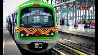Bangalore Metro Ride | Nagasandra to Puttenahalli | Namma Metro | Green Line