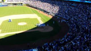 Walk Off Grand Slam Justin Maxwell KC Royals
