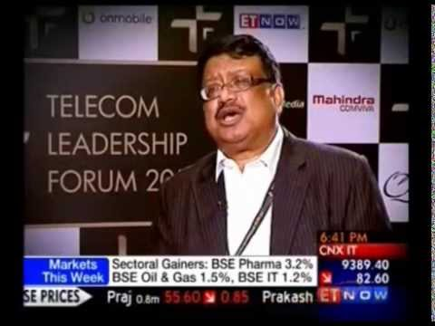 Mahindra Comviva CEO speaks at TLF 2014