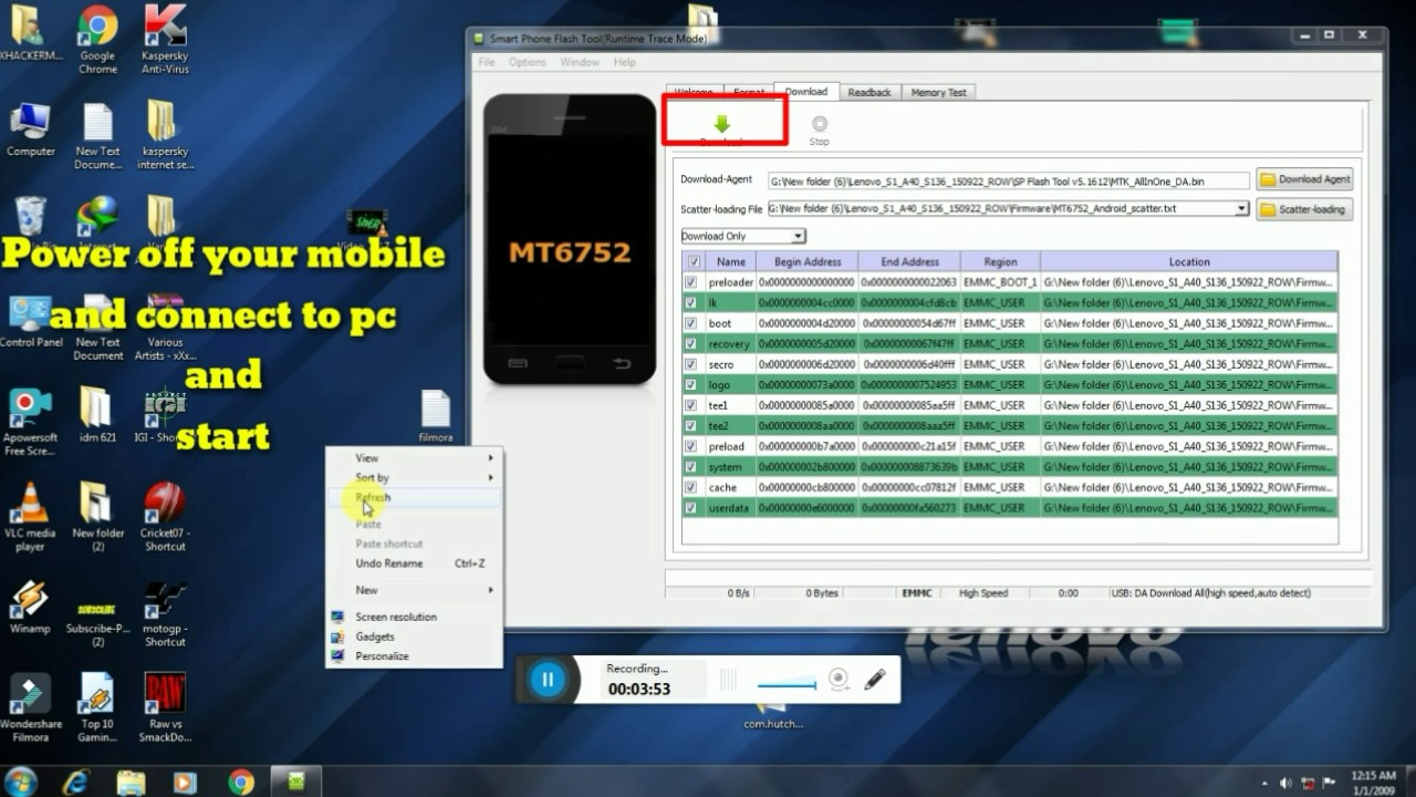 how to flash lenovo vibe s1a40 official rom install - Видео