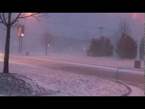 EXTREME Lake Effect Snow Blizzard in Michigan!