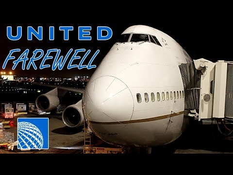 LAST EVER United Airlines Domestic Boeing 747-400! Flight Review / Trip Report [ORD to SFO]