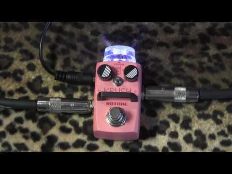 Hotone Audio KRUSH micro pedal Bit Crushing box of love and madness
