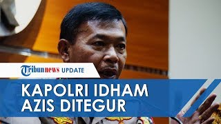 Rapat dengan Komisi III, Kapolri Idham Azis 'Ditegur' Gara-gara Tak Masukkan Baju ke Celana