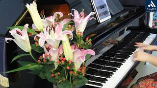 Gambar cover Beautiful in White - Westlife - Cover Piano - #Armuli