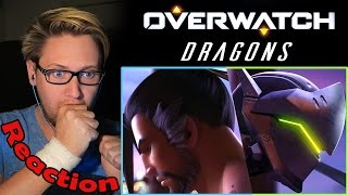 "Overwatch Animated Short | ""Dragons"" REACTION! 