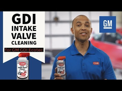 Intake Valve Cleaning GM GDI Ecotec CRC GDI IVD Intake Valve & Turbo Cleaner