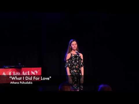 "Athena Psihudakis ""What I Did For Love"" Chorus Line"