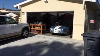 FFR 7608 Pulling into garage