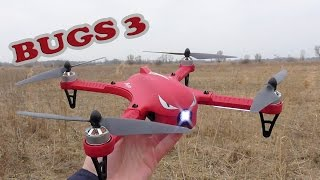 MJX B3 Bugs 3 - Бюджетний квадрокоптер на БК моторах