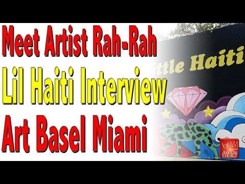 Meet A Very Creative Artist From Lil Haiti at Art Basel Miami