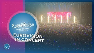 Twenty-eight participants start their promo tour in Amsterdam with Eurovision In Concert